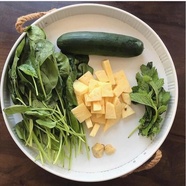 Lanche da manhã: suco verde (Foto: Divulgação)