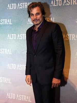 Edson Celulari na festa de Alto Astral (Foto: Arthur Seixas / TV Globo)