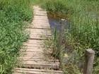 Ponte em Suzano é alvo de reclamação de internauta