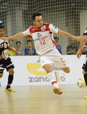 Falcão Sorocaba Guarapuava Taça Brasil Futsal (Foto: Henrique Porto/Agência Avante!)