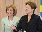 Dilma recebe credenciais da nova embaixadora dos EUA no Brasil