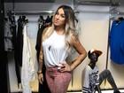 Dani Bolina diz que está solteira e se nega a falar sobre Mateus Verdelho
