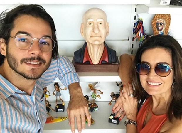 Fatima Bernardes e Tulio Gadelha (Foto: Reprodução)