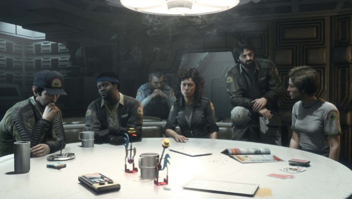 Alien Isolation terá elenco original em DLC para quem comprar o game na pré-venda. (Foto: Divulgação) (Foto: Alien Isolation terá elenco original em DLC para quem comprar o game na pré-venda. (Foto: Divulgação))