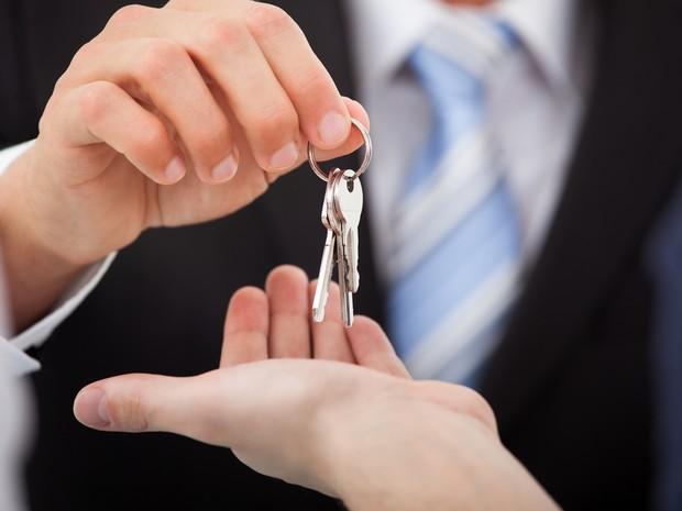Imóveis chaves (Foto: Shutterstock)