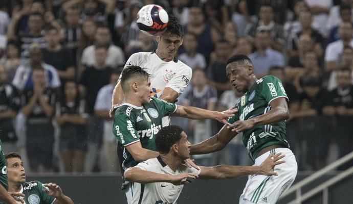 Pablo Balbuena Corinthians Palmeiras (Foto: Daniel Augusto Jr. / Agência Corinthians)