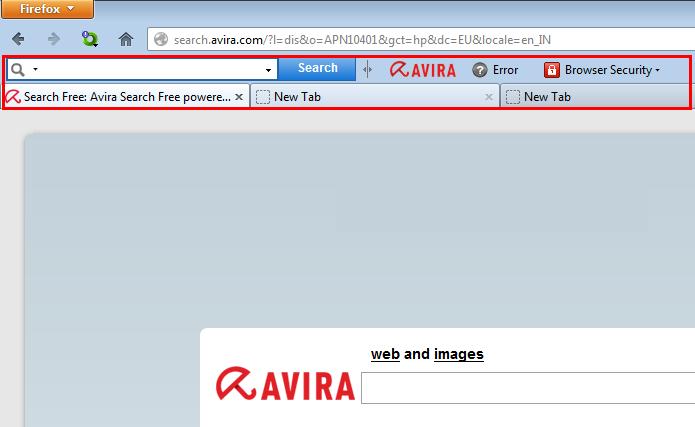 Antivírus Avira é só um dos muitos programas que instalam barras de ferramenta no navegador (Foto: Reprodução/Paulo Alves)