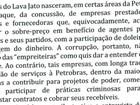 Texto apreendido com executivo da Odebrecht critica Ministério Público