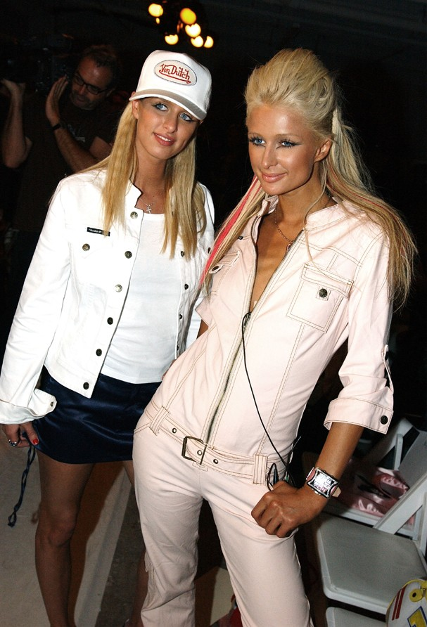 Nicky e Paris Hilton (Foto: Getty Images)