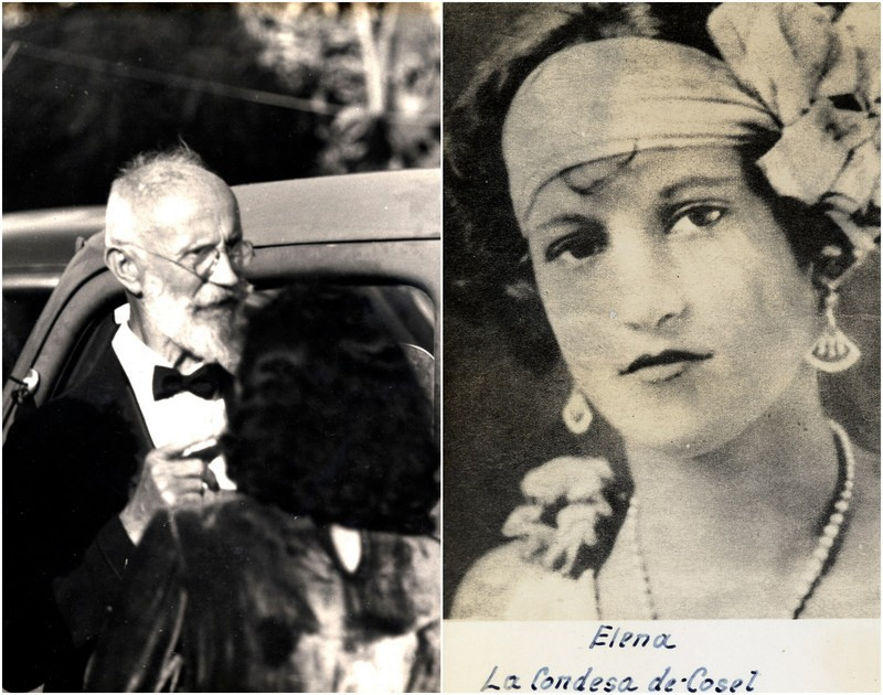 Tanzler e Maria Elena (Foto: Florida Public Library)