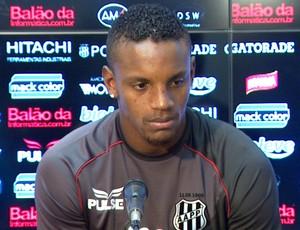 Cleber zagueiro Ponte Preta (Foto: Carlos Velardi / EPTV)