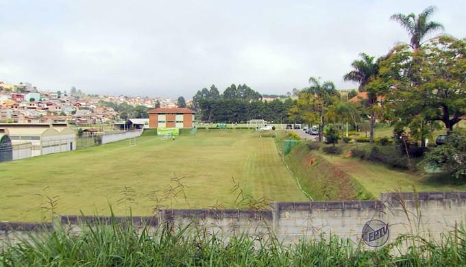 CT Ninho dos Periquitos; Caldense (Foto: Reprodução EPTV)