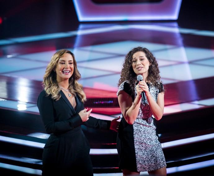 Voz de Vanessa Macedo conquista Claudia Leitte (Foto: Isabella Pinheiro/Gshow)