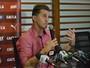 """Após triunfo, Mancini elogia volantes e avalia Dagoberto: """"Entrou bem"""""""