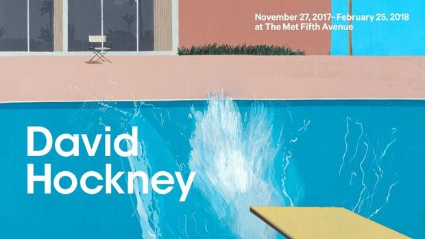 Exposição de David Hockney no MET (Foto: Reprodução)