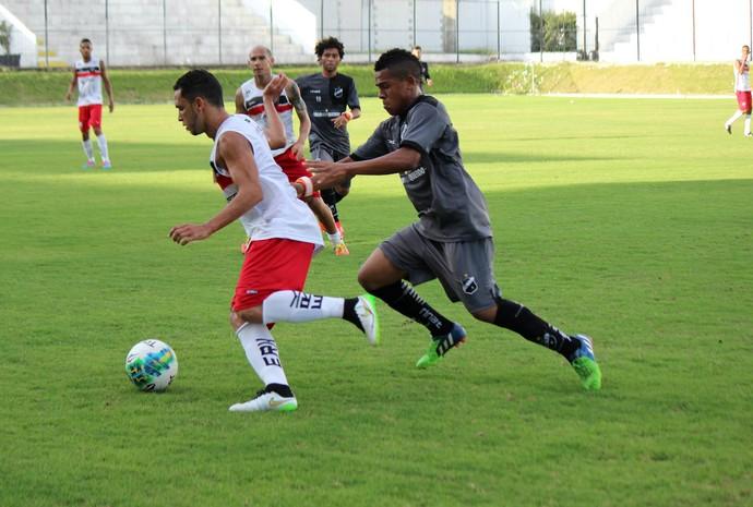 RN - ABC vence jogo-treino contra Santa Cruz de Natal por 1 a 0 (Foto: Diego Simonetti/Blog do Major)