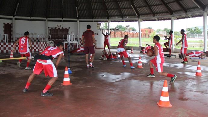 Treino Rio Branco-AC (Foto: Duaine Rodrigues)