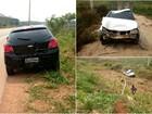 Vítima fica presa às ferragens após colisão entre carros em rodovia no AC