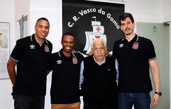 Vasco apresenta reforços, sonha com patrocínio e promete brigar no NBB 9