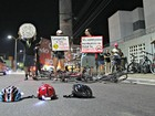 Ciclistas protestam em Manaus após morte de jovem atropelado por ônibus