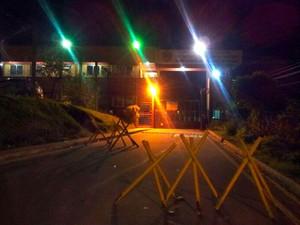 Acusados saíram nesta terça-feira (8) do presídeo em Viana (Foto: Juliana Borges/ G1ES)
