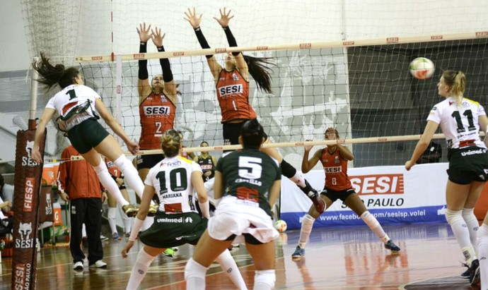 Sesi-SP x Vôlei Bauru, playoff, Campeonato Paulista (Foto: Marina Beppu / Vôlei Bauru)