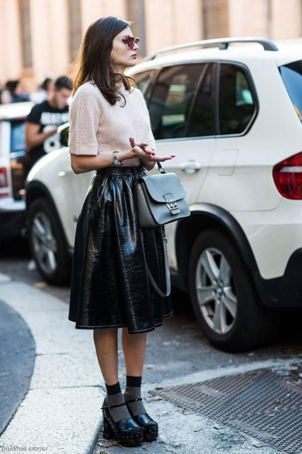 Sandália com meia (Foto: Reprodução/Pinterest)