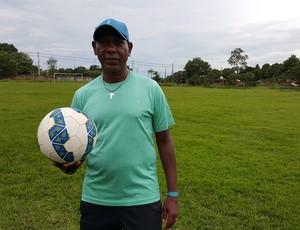 Pery Santana, técnico do Ji-Paraná (Foto: Marco Bernardi)