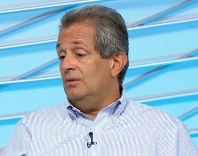 Luiz Eduardo Baptista, vice-presidente de marketing do Flamengo (Foto: Reprodução SporTV)