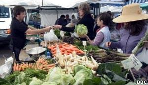 Estudo polêmico diz que comida orgânica não é mais nutritiva (Foto: BBC)