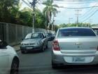 Trânsito em rua Federação é lento por causa de celebração a São Roque