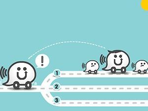 Waze, aplicativo de GPS Social para smartphones. (Foto: Reprodução)