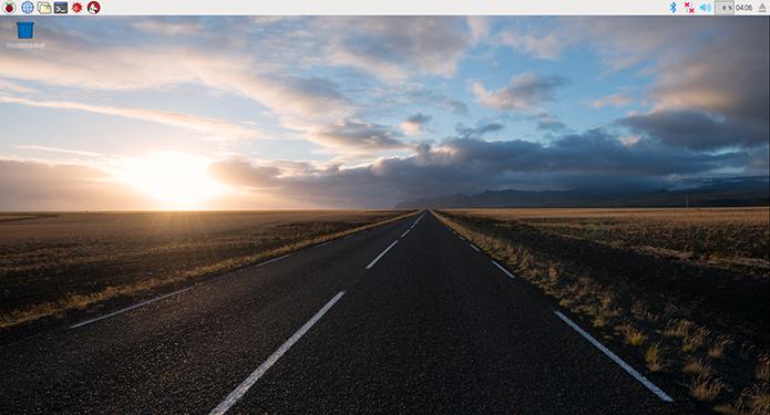 Raspbian ganhou nova interface para ficar mais agradável de usar e com visual mais atual (Foto: Reprodução/Filipe Garrett)