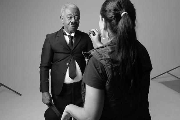 Projeto Identidade Faya -Milton Gonçalves (Foto: Faya)
