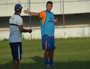 Jailton, volante Confiança (Foto: Felipe Martins)