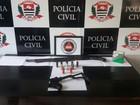 Homem é preso com espingarda calibre 12 em Santos, litoral de SP