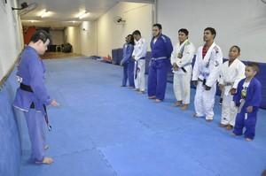 Fabricio Galvão atleta com síndrome de down (Foto: Robson Boamorte)