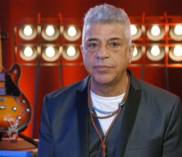 Lulu Santos chama para votação no The Voice Brasil (Foto: TV Globo)