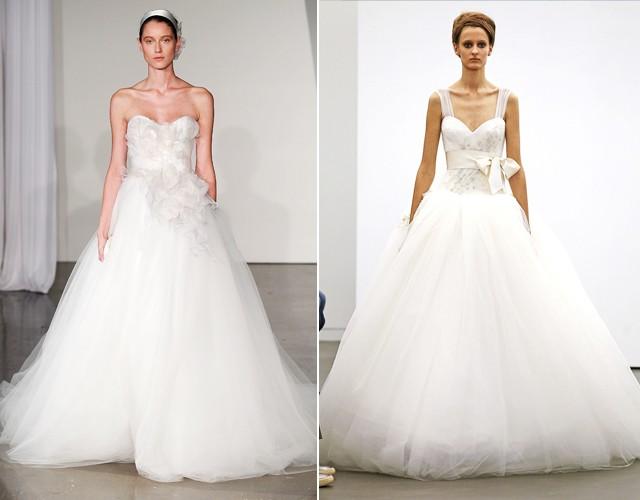 Noivas: tule é protagonista de vestidos de sonho - Vogue   Noivas