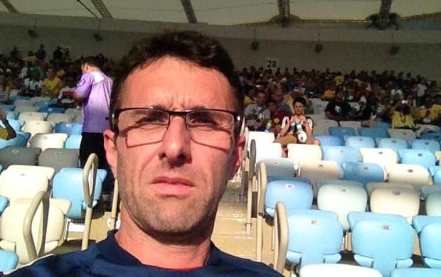 Fernando Gravina cadeira cativa Maracanã jogo (Foto: Divulgação / Arquivo Pessoal)