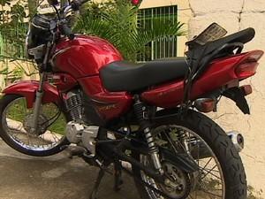 Moto taubaté (Foto: Reprodução/TV Vanguarda)