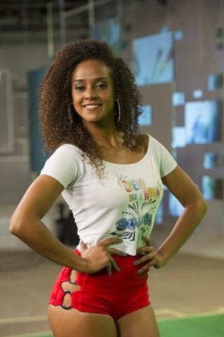 Flavia se prepara para novas etapas do concurso (Foto: TV Globo/Estevam Avellar)