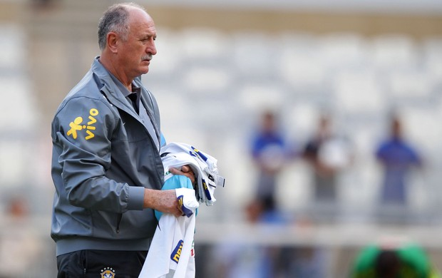 Felipão Scolari Seleção treino (Foto: Wagner Carmo / VIPCOMM)