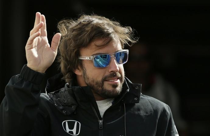 Fernando Alonso, da McLaren, em Mônaco (Foto: Reuters)