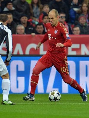 Robben, Bayern de Munique x Juventus (Foto: AP)