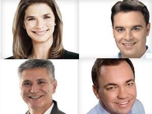 Quatro candidatos participam de debate em Florianópolis (Foto: reprodução)