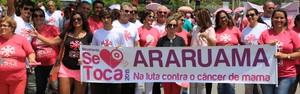 Campanha sensibiliza população e agita cidade (Marcelo Figueiredo/Ascom)