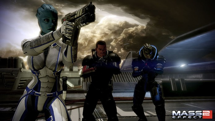 Liara retorna em Mass Effect 2: The Lair of the Shadow Broker (Foto: Divulgação/EA)