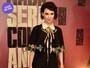 Look do dia: Débora Falabella usa vestido de R$20 mil em lançamento