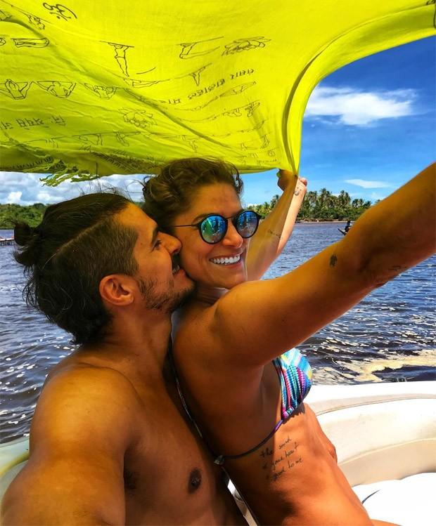 Priscila Fantin e Bruno Lopes (Foto: Reprodução/Instagram)